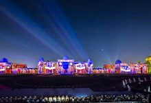 Sharjah Light Festival Opening - Al Qasimia University